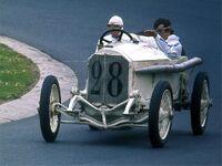 Mercedes-GP-Wagen von 1914 am 1977-08-14