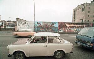 Trabant berlin wall