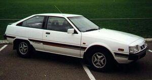 Mitsubishi cordia 1985AB