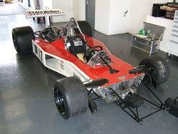 McLaren M23 without bodywork