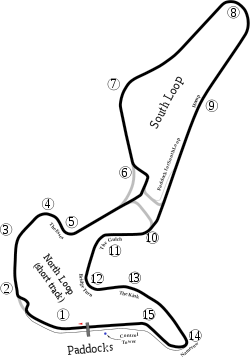 Circuit Mont-Tremblant Track Map