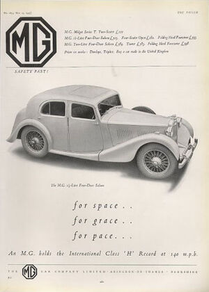 MG 1 5 litre saloon 37