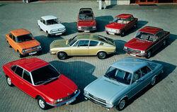 Audi NSU range (1969)