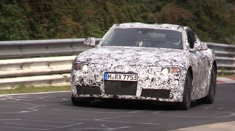 2018 Toyota Supra Testing on the Nurburgring!