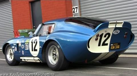 $7.0m Shelby Daytona Cobra Great SOUND!
