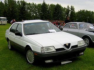 White Alfa Romeo 164