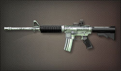 AR M4A1 Chrome
