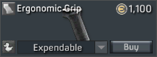AR-57 Fighting Machine Ergonomic Grip