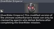 OverRider Emperor