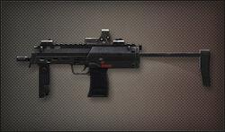 Weapon Pointman MP7A1