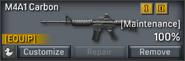 M4A1 Carbon inventory