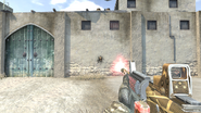 X-plorer Blaster firing