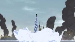 Korra's waterspout