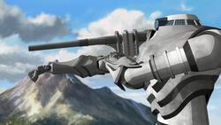 Spirit energy cannon taking aim