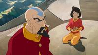 Tenzin annoyed