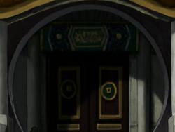 Earth Kingdom house front door
