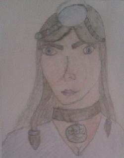 Drawn Portrait of Anana