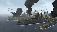 Iroh's fleet sinking