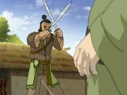 Earth Kingdom dao swords