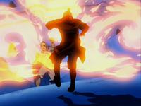 Zuko and Zhao's rematch