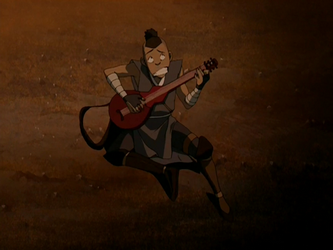 File:Sokka performing for the badgermoles.png