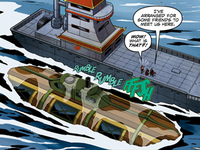 Fire Nation submarine