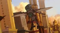 Hummingbird mecha suit