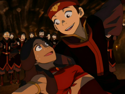 Katara and Aang dancing.png