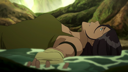 Korra defeated by Toph