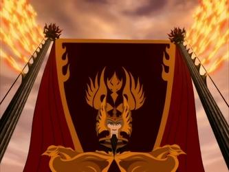 Archivo:Phoenix King Ozai coronation.png
