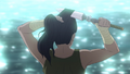 Korra cutting her hair.png