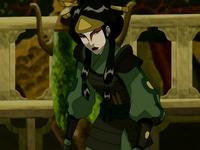 Mai as Kyoshi Warrior