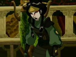 Mai as Kyoshi Warrior