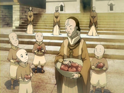 Sister Iio and Air Nomad children.png
