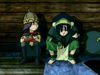 Toph and The Duke