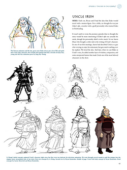 File:Art of the Animated Series Iroh sketches.png