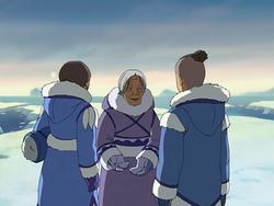 Kanna with her grandchildren