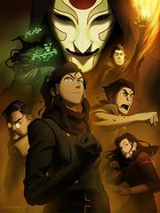 The Legend of Korra finale press art