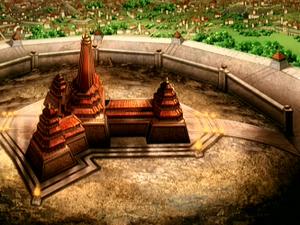 Sozin's Fire Nation palace