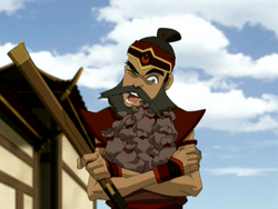Sokka collects money