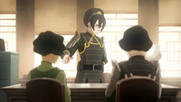 Toph reprimands her children