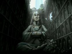Yangchen statue