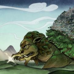 Rùa sư tử Lửa.