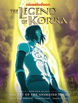 The Legend of Korra The Art of the Animated Series Book Four