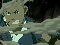 Sokka fights the Dai Li