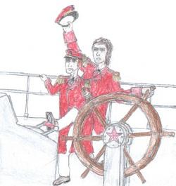 Admirals Anna Visconti & Olaf Janssen