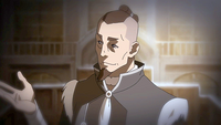 Sokka during the trial
