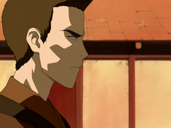 Side-view of Zuko