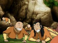 Young Roku and Gyatso