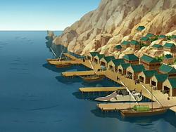 Harbor town